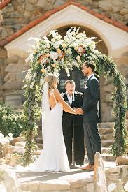 wedding arches san diego fresh and san diego wedding in and green floral arch