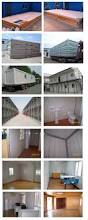 20ft container house for accommodation with kitchen and toilet