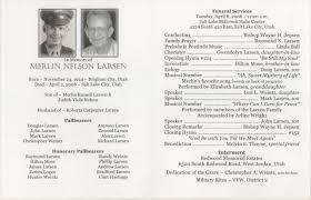 funeral obituary templates sle funeral program