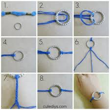 make bracelet with string images Diy circle bracelet jpg