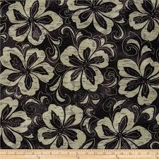 surf n u0027 sand tropicals tropical floral black discount designer