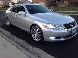 lexus gs300 brisbane il fs 2009 gs350 silver 47k miles awd vossens chicago area