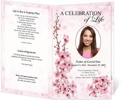 funeral programs exles obituary cards sle olivar design