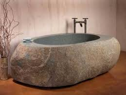 japanese style natural bathtub by stone forest inspired by the japanese style