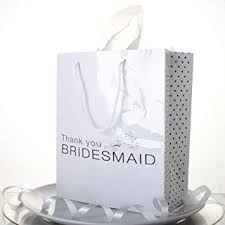 bridesmaids gift bags bridesmaid gift bag present gift in style co uk