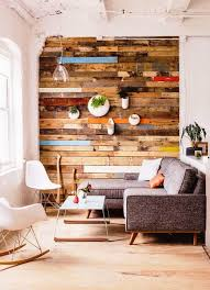 Accent Walls by Warmth And Texture 10 Unique Living Room Wood Accent Walls