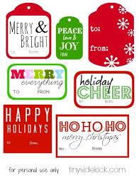 free printable christmas gift tags with regard to free christmas