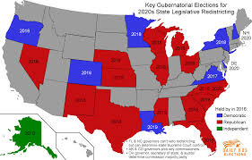 Red State Map by Democrats Are Already Gearing Up For Our Next Redistricting Battle