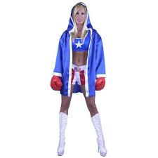 Boxer Halloween Costumes Women U0027s Boxer Robe Accessories