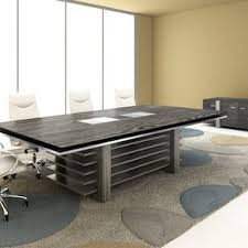 Modern Conference Room Tables by Custom Made Nyc Conference Room Table By Blue Marlin Home