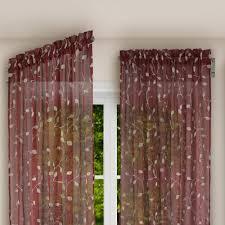 Swing Arm Curtain Rod Achim Brent 20 In L 36 In L Innovative Swing Arm Curtain Rod