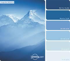 Blue Color Palette by Colour Inspiration January Colour Love Love Colors Pinterest