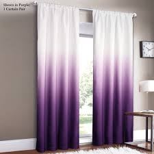 shades ombre curtains ombre curtains ombre and purple