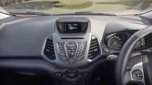 2015 ford ecosport interior hd video youtube