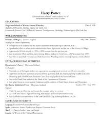 Best Resume Font Reddit by I Built Harry U0027s Resume Part 2 Harrypotter