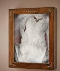 wedding dress shadow box wedding dress framing and