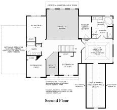 colonial open floor plan westridge estates of canton the ellsworth ii home design