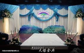 wedding backdrop online silk royal blue wedding backdrop 3m 6m wedding