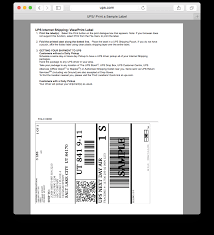 printable job application for ups mac ups thermal driver for osx print directly to label printers on osx