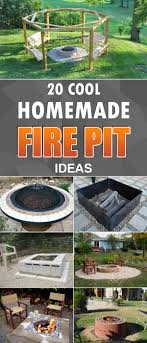 Home Made Firepit 20 Cool Diy Pit Ideas