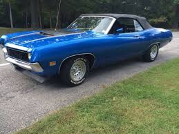 ford torino gt for sale 1971 ford torino gt convertible 5 8l for sale detailed