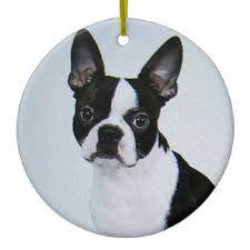 boston terrier ornaments keepsake ornaments zazzle