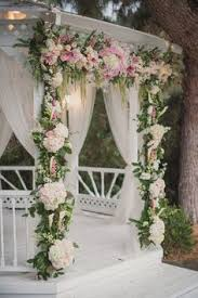 wedding arch gazebo wedding gazebo with flower garland flower wedding gazebo and