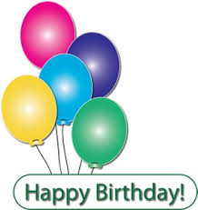 free balloons free balloons clip image balloons with happy birthday text