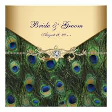 Peacock Wedding Programs Peacock Wedding Invitations 2600 Peacock Wedding Announcements