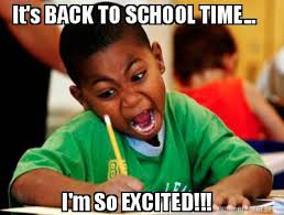 Excited Memes - augieblog my first semester of college in memes