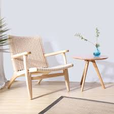 Wooden Arm Chairs Living Room Classic Home Furniture Living Room Lounge Arm Chairs Ash Solid