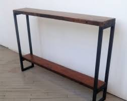 Ultra Thin Console Table Narrow Console Table Etsy