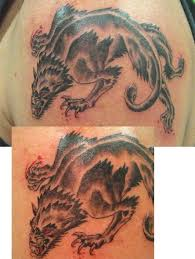 dire wolves tattoos pictures to pin on pinterest tattooskid