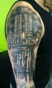 ny skyline tattoo designs pictures to pin on pinterest tattooskid
