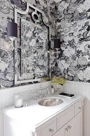 Black And White Wallpaper For Bathrooms - the 25 best black and silver wallpaper ideas on pinterest