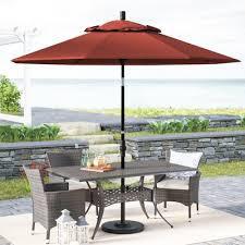 Patio Umbrellas Edmonton Sunbrella Patio Umbrellas You U0027ll Love Wayfair Ca