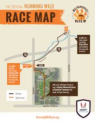 Map Running Route by Race Map Running Wild Race June 17 2017