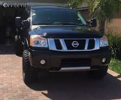 nissan titan with rims wheel offset 2014 nissan titan suspension lift 3 custom rims a