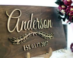 Custom Decorative Signs Custom Family Sign Etsy