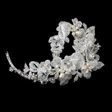rhinestone hair exquisite pearl rhinestone flower hair clip bridal