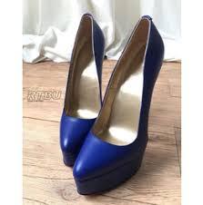 Cobalt Blue High Heels Pin Up U0026 Rockabilly Heels For Women Shop High Quality Pin Up