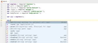 how webstorm works completion for javascript libraries webstorm