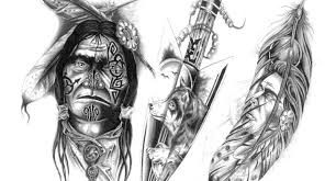 native american feather tattoo designs 1000 ideas about indian