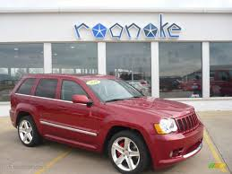 cherokee jeep 2010 2010 inferno red crystal pearl jeep grand cherokee srt8 4x4
