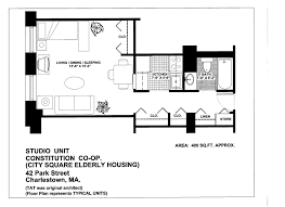 studio floor plans 400 sq ft constitution co op csi