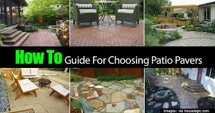 Patios With Pavers Patio Pavers How To Create A Beautiful Patio With Pavers