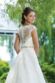 sweetheart gowns alencon lace and tulle gown with sabrina neckline sweetheart