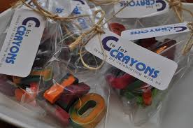 C Favors by Crayons Lifewithcake