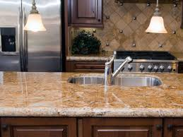 bathroom colonial cream granite countertops and kitchen island