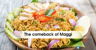 maggi cuisine maggi is back in india what was bad in maggi noodles my india